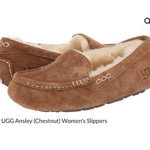 Ugg Ansley Chestnut Slippers